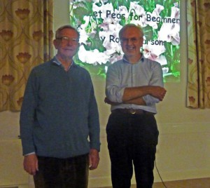Liam Hutchings and Roger Parsons
